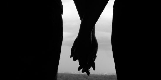 Image result for two shadows holding hands